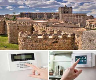 Security alarms for houses in Avila